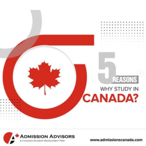 Top 5 Reasons to Study in Canada
